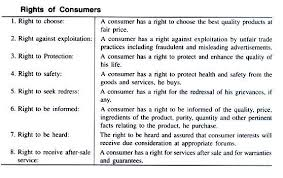 essay on consumerism right of consumers