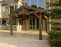 OGR  Outdoor GreatRoom Company Lodge II Pergola 14x14FeetOutdoor Great Room