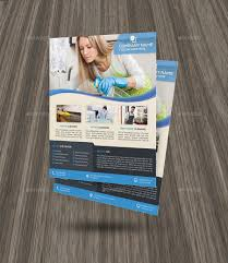 Housekeeping Flyers Templates Cleaning Services Flyer Template By Elitely Graphicriver With