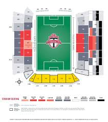 Seating Charts Bmo Field