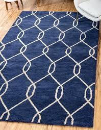 navy blue x trellis rug area rugs target 8x10