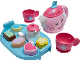 fisher laugh learn sweet manners tea set