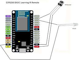 1000 ideas about arduino ir arduino programming easiest esp8266 learning ir remote control via wifi