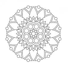 Mandala Da Colorare 022 Adult Coloring Pages Mandala Disegni