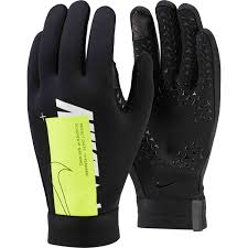 Nike Youth Hyperwarm Field Player Soccer Gloves Size Chart Nike Air Hyperwarm Academy Fieldplayer Gloves Black Volt