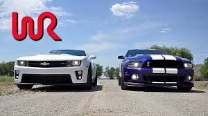 2013 Chevrolet Camaro ZL1 & 2013 Ford Shelby GT500 Mustang ...