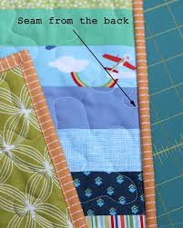Machine Binding Tutorial | Cluck Cluck Sew & See no stitches in the front binding? All you can see is a nice straight  line of stitches in the quilt, and it blends in nicely with the quilting. Adamdwight.com