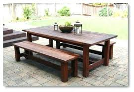 woodwork outdoor dining table plans the diy round farmhouse 8