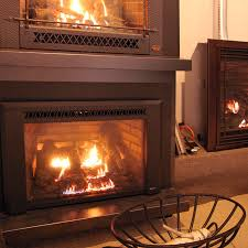 gas fireplace insert display in wilton ct fairfield county