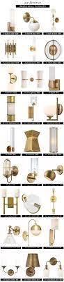bathroom lighting ideas pinterest. interesting bathroom i love lamp best brass wall sconces  emily henderson with bathroom lighting ideas pinterest