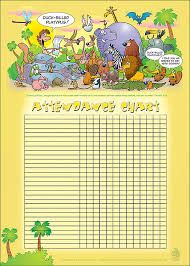 Printable Attendance Charts For Bible Class Adam Names The Animals Attendance Chart