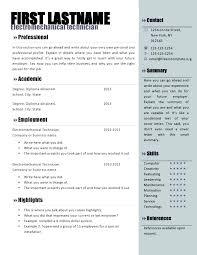 Work Resume Template Word – Digiart