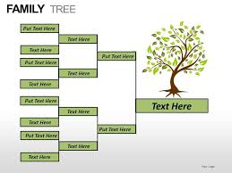 Family Tree Picture Template Family Tree Powerpoint Presentation Slides Powerpoint