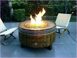 propane fire pit glass rocks table new outdoor