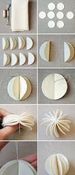 28 Paper Diy Paper Ball Ornaments Click For 28 Easy Diy Christmas