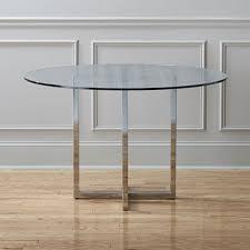 round glass dining table. Round Glass Dining Table