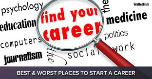 Find Your Career Best Worst Places To Start A Career