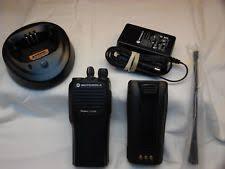 motorola cp200. refurbished motorola cp-200 438-470 mhz uhf 16 chan w/accessories cp200