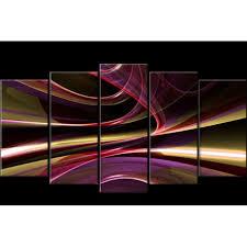 multi panel canvas art abstract