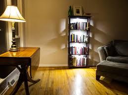 Bookshelf Lighting Wonderful Ikea Bookshelf Lights Pics Design Ideas Surripuinet