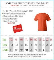 Hanes Polo Size Chart Supreme Hanes Tee Size Chart Hanes