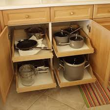 roll out shelves trays racks make it easy to get to things in