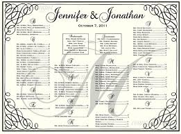 seating chart for wedding reception sample wedding seating chart expin franklinfire co