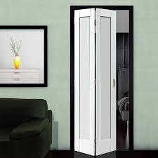 Antigua White Primed Bifold Door