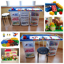view in gallery lego table f diy lego tables perfect for kids of all ages
