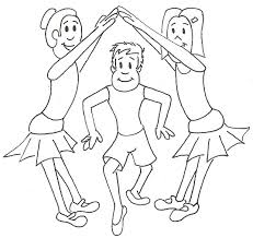 Small Picture 4 Year Old Dancing Coloring Coloring Pages