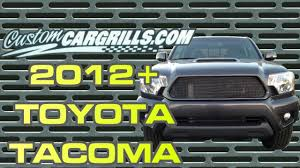 Toyota Tacoma 2012+ Mesh Grill Installation by customcargrills.com ...