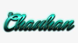 chauhan name logo hd png