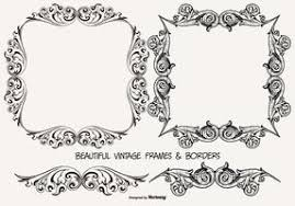 vintage frame border. Vintage Frames And Borders Collection Frame Border