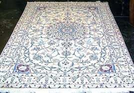 blue and white persian rug white rug blue and oriental