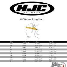 Hjc Helmet Size Chart 42 Punctual Hjc Helmets Sizing Chart
