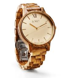 mens wooden watches by jord frankie series