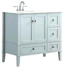 inch bathroom vanity single sink left side 60 vanities top
