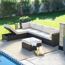 backyard patio furniture awesome wicker outdoor sofa 0d patio chairs replacement cushions design