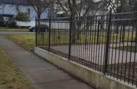 Metal fence Design Metal Fencing Deerbusterscom Metal Carpenter Fence