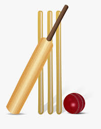 Cricket Bat And Ball Clip Art , Free Transparent Clipart - ClipartKey