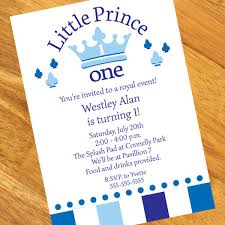 Birthday Invitation Pictures Fascinating Little Prince 48st Birthday Personalized Invitations
