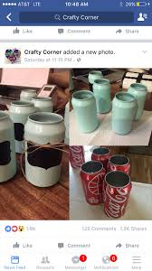 Recycled cans for pencil holders!