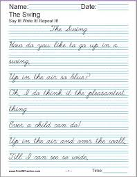 How To Practice Penmanship Printable Handwriting Worksheets Manuscript And Cursive
