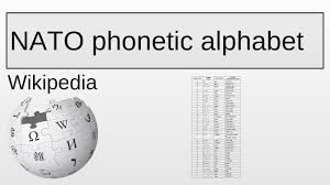 International phonetic alphabet (ipa), an alphabet developed in the 19th century to accurately the international phonetic alphabet chart. Nato Phonetic Alphabet Wikipedia Youtube