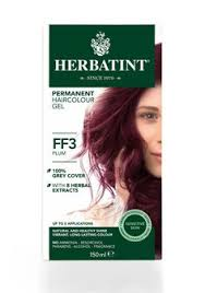 herbatint italian herbal hair color gel w gray coverage plum ff3 want