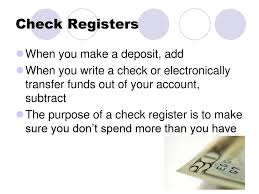 Chapter 4 Checking Accounts. - Ppt Download