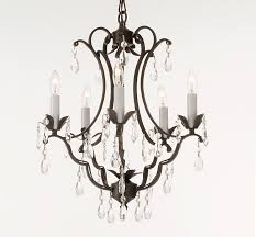 living cool black chandelier with crystals 11 attractive wrought iron 9 furniture vintage look modern chandeliers