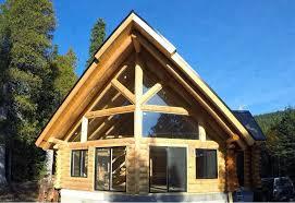 maison en bois rond pelletier