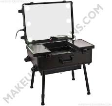 portable lighted makeup station with large mirror and cool led 589 00