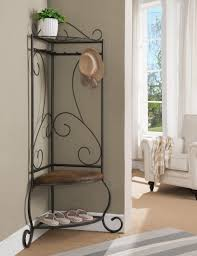 Entry Hall Coat Rack Storage Hall Coat Rack With Storage Narrow Entry Table Coat 60